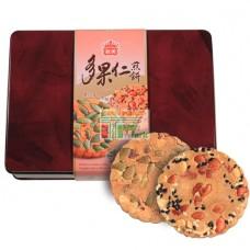 義美多果仁煎餅禮盒(附精美提袋)