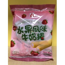 北田水果風味牛奶捲草莓(奶素)