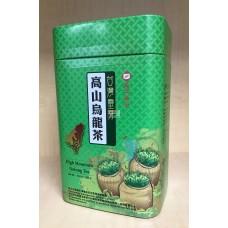 天仁靈芽高山烏龍茶罐(長方形)綠罐