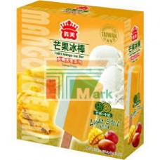 義美芒果牛奶冰棒(五支入)