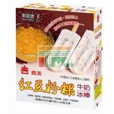 義美紅豆粉粿冰棒(五支裝)