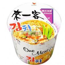 統一來一客韓式泡菜麵(杯)