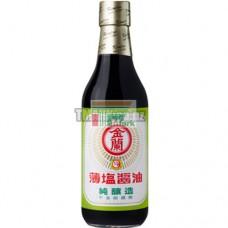 金蘭薄鹽醬油500ml
