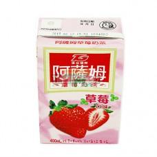 阿薩姆奶茶鮮草莓