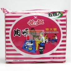 統一肉燥麵(袋)5包裝