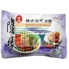 味丹隨緣韓式泡菜素袋麵