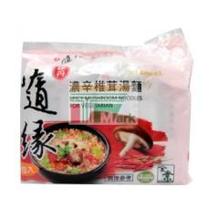 味丹隨緣素濃辛椎茸湯袋麵(5包裝)