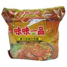 味味一品原汁珍味牛肉麵(袋)3包裝