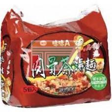 味味A肉骨茶麵(袋)5包裝