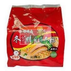 味味A鴨肉冬粉(袋)4包裝