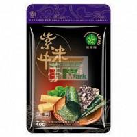 鉑達欣海苔紫米牛蒡酥(全素)