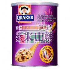 桂格即沖即食紫米山藥燕麥片700g