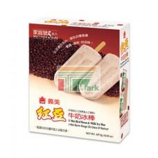 義美紅豆牛奶冰棒(5支)