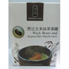 泰山黑豆米抹茶拿鐵